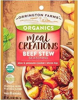 Orrington Farms Organic Meal Creations Seasoning, Beef Stew (6 Count)