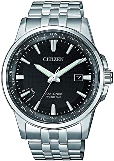 CITIZEN Mens Solar Powered Watch, Analog Display and Solid Stainless Steel Strap - BX1001-89E