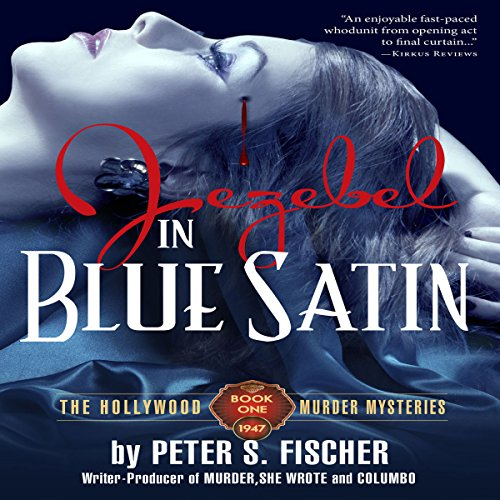 Jezebel in Blue Satin audiobook cover art