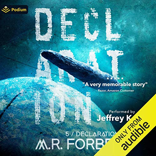Declaration Audiobook By M. R. Forbes cover art