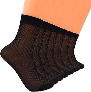 Adult Silk Socks Men Pure Silk Socks Ultrathin Crew Socks Women's Transparent Socks