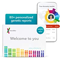 23andMe DNA Test Ancestry Personal Genetic DNA Test with 2000+ Geographic Regions, Family Tree, DNA Relative Finder, and Trait Reports
