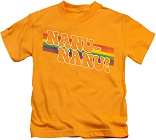 Mork & Mindy Nanu Rainbow Kids T-Shirt