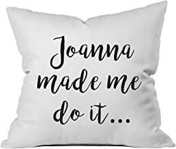 Oh, Susannah Joanna Made Me Do It 18x18 Inch Throw Pillow Cover Gifts for Her