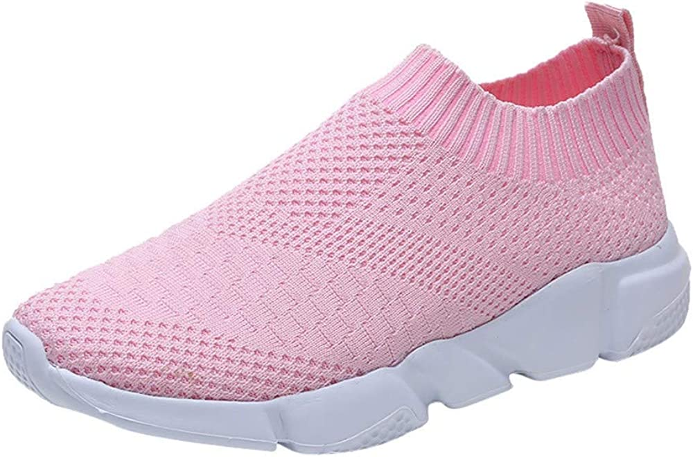 Women Sneakers Lightweight Mesh Slip On Barefoot Ladies Gym Fitn