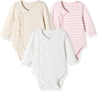 SugarPocket Unisex Boys Girls Rompers Baby Short Sleeve 2-Packs