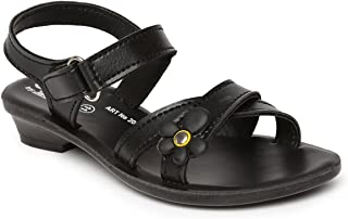 PARAGON P-Toes Kid's Black Sandals