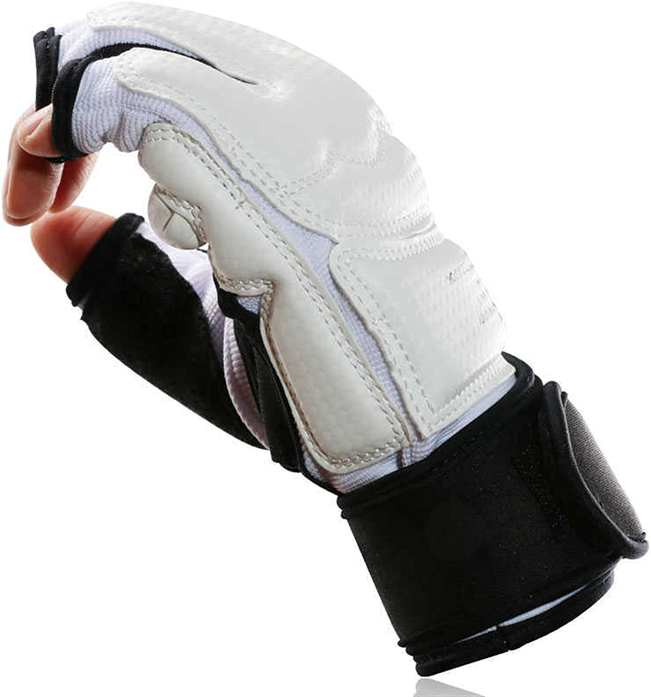 JINSHANDIANLIAO 1 Pair Taekwondo Hand Half Protection Gloves Directly managed Bargain store Fin