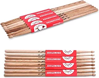 Conjunto de percusión Drumstick 5A Par de roble Palillos palillo