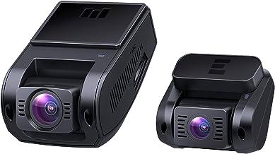 AUKEY Dual Dash Cam HD 1080P Front and Rear Camera Car Camera Supercapacitor 6-Lane 170 Degrees Wide-Angle Lens Dashcam wi...
