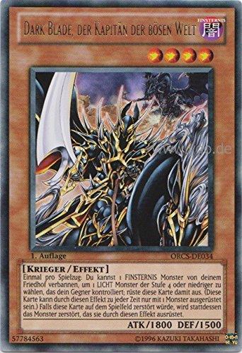 ORCS-DE034 Dark Blade, der Kapitän der bösen Welt
