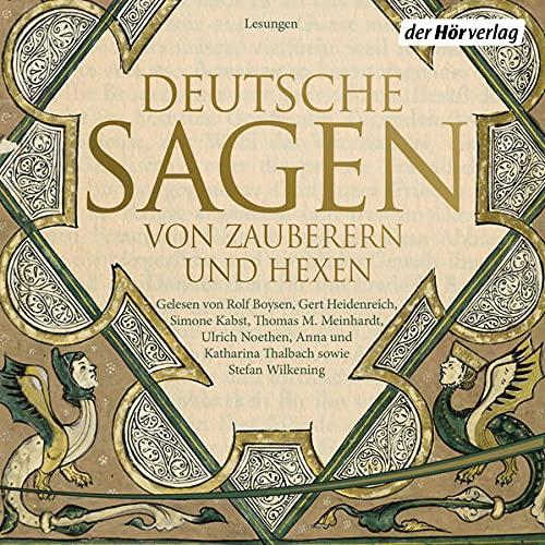 Deutsche Sagen von Zauberern und Hexen Titelbild