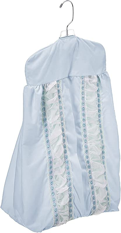 Baby Doll Sweet Touch Baby Crib Diaper Stacker Blue