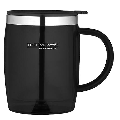 Thermos ThermoCafé Translucent Desk Mug, Black, 450 ml