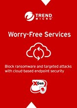 Trend Micro Worry-Free Services (3 Years - 1 User+) for Cloud-Based Security for Windows, Mac, and Mobile Devices Endpoint Protection License