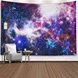 ROOLAYS Home Art Decor Wall Hanging Tapestry Star Field in Deep Space Many Light Years Far from The Earth Elements This Image Furnished with 80x60 Inches for Living Room Dorm Background Tapestries