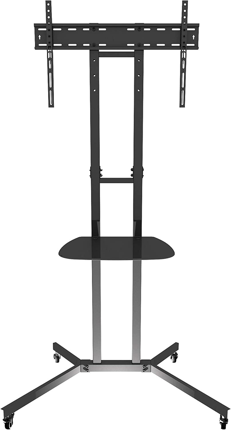 """AVF WFSL500-A Mobile Max 76% OFF TV Cart Stand 40"""" up to w Superior Mount for"""