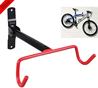 Dirza Wall Mount Bike Hanger Flip Up Garage Bicycle Bike Rack Storage System for Garage Shed with Screws
