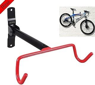 Dirza Wall Mount Bike Hanger Flip Up Garage Bicycle Bike Rack Storage System for Garage Shed with Screws