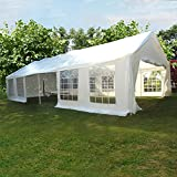 Outdoor 6 x 12 Meters Heavy Duty Wedding Party Tent Marquee Marquees White with Sides