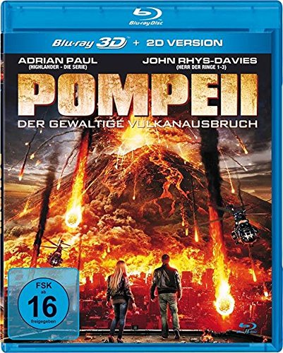 Pompeii - Der gewaltige Vulkanausbruch [3D Blu-ray]