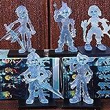 LWH-MOU Dissidia Final Fantasy Cloud Strife Lightning Eclair Farron Squall Leonhart Tidus Q Versión PVC Figuras de acción Juguetes 5pcs / Set A con Retail-B-UNA
