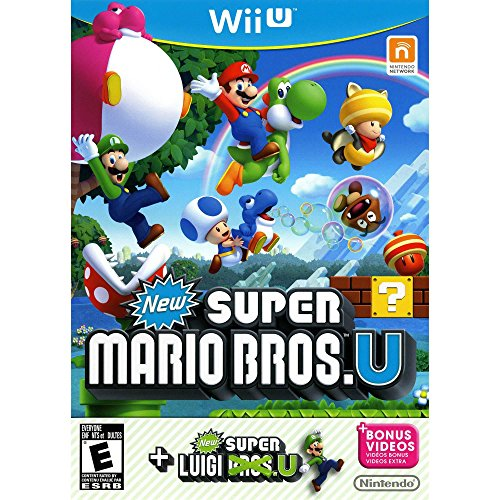 New Super Mario Bros. U & New Super Luigi U