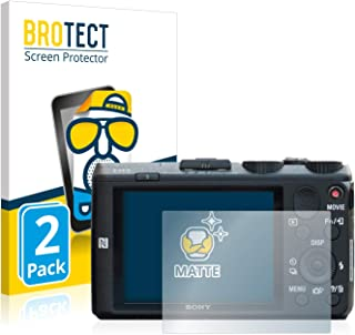 Anti-Fingerprint Anti-Reflex BROTECT 2X Entspiegelungs-Schutzfolie kompatibel mit Nikon D60 Displayschutz-Folie Matt