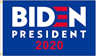 Joe Biden 2020 Flag for President,3x5 Feet Flag 2020 American Presidential Election Banner Democrat Party Poster Sign with Brass Grommets for Outdoor,Indoor,Decor,Support,Room Decor (Blue)