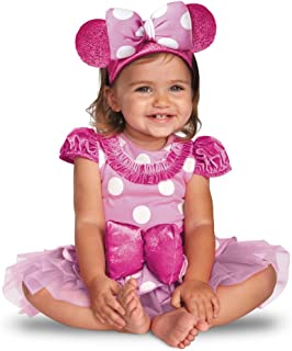 Costumes Pink Minnie Mouse Prestige Infant, Light Pink/Hot Pink/White, 12-18 Months