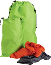Smooth Trip OdorBlock Travel Laundry Bags with Agion Antimicrobial - 2 pack