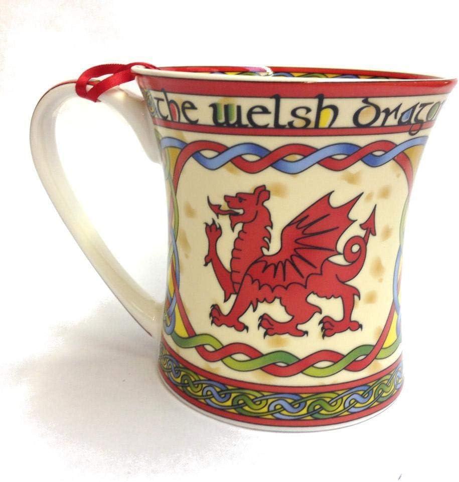 Welsh Dragon Coffee Mug Cymru - Wales Max 84% OFF Design Celtic Chi Bone New product type