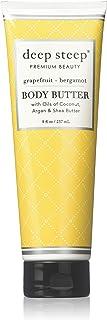 Deep Steep Body Butter (Grapefruit Bergamot, 8 Ounce)