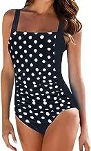 Beautyfine One Piece Swimsuit, Women Push Up Padded Bikini Swimwear Bathing Suit Monoki