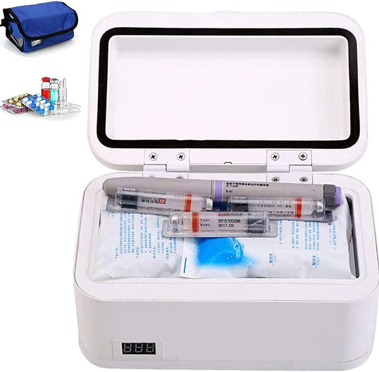 Portable 5 popular Insulin Cooler Drug Reefer Medicine B Dallas Mall Mini Refrigerated