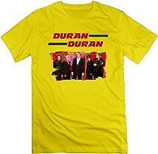 Memoy Men's Duran Super Band Tee Latest Yellow