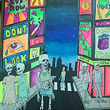 Times Square Shows Its Bones