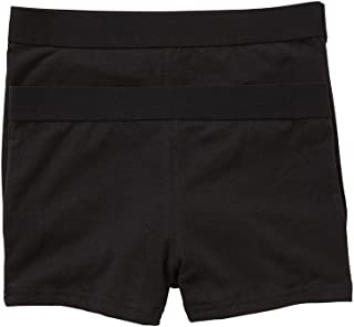 Hanes Girls Underwear Cotton Elastane Sports Shortie (2 Pack)