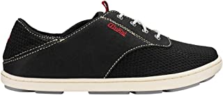 OluKai Nohea Moku Boy's - Tieless Comfort Sh Black/Black - 1 M US Little Kid