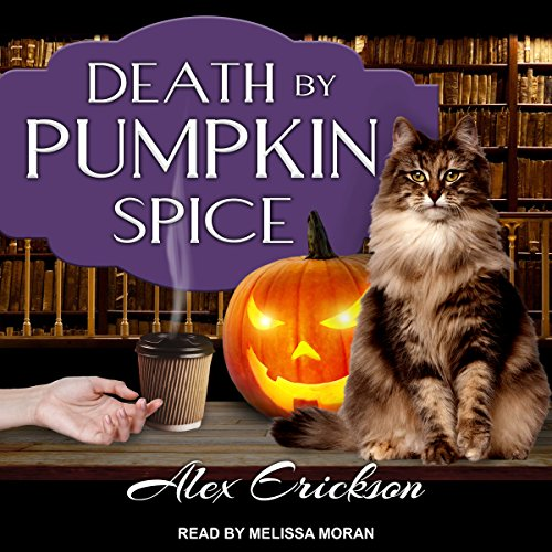 Death by Pumpkin Spice audiobook cover art