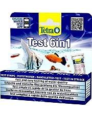 Tetra T6239 6-i-1 Vattentest för akvarium, 25 st
