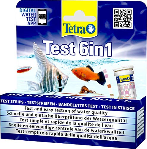 Tetra Test 6in1- Prueba de agua para controlar los seis