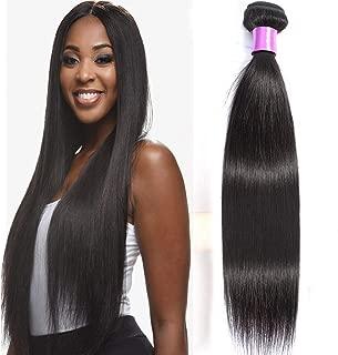 Misoun Hair Brazilian Hair One Bundle Virgin Unprocessed Straight Human Hair 26inch Brazilian Straight Hair Weave