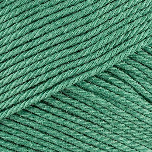 Baumwollgarn zum Stricken und Häkeln Limone 160-mintgrün Schoeller+Stahl Strickwolle Häkelgarn Baumwolle Topflappengarn Schulgarn