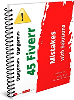 45 Mistakes on Fiverr with Solutions | Fiverr Success | Fiverr Ebook | Freelancing| Earn Money Online | Side Hustles: Five...