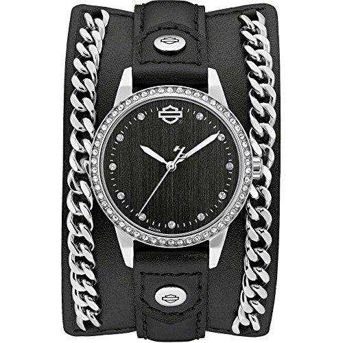 orologio solo tempo donna Harley Davidson sportivo cod. 76L184