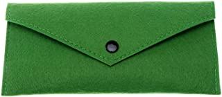 HOTKEI Multipurpose Soft Felt Clutch Wallet Mobile Pouch Pen Pencil Box Cosmetic Makeup Stationary Storage Pouch Clutch Ca...