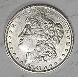 1881 S Morgan Silver Dollar $1 About...