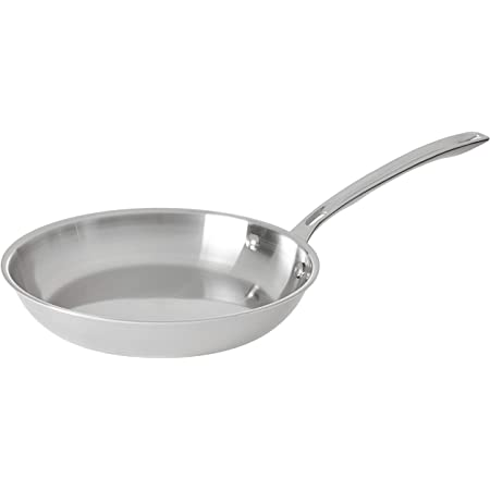 Viking Contemporary 3 Ply Stainless Steel Fry Pan 12 Inch Kitchen Dining