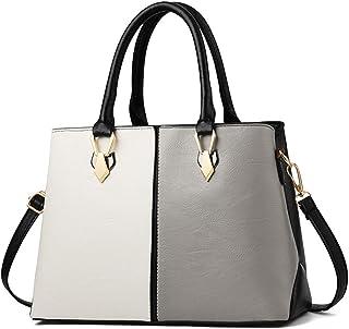 e8e5a52416 TOTZY Women Handbags Fashion Top-Handle Handbag Shoulder Bag Tote Purse